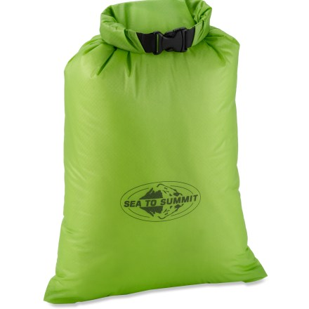 Camp and Hike Still haven't found a backpacking stuff sack that is ultra-lightweight and waterproof? Look no further than the Sea to Summit Ultra-Sil dry sack. - $13.95