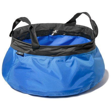 Camp and Hike The Sea to Summit 10-liter Kitchen sink makes washing dishes in the backcountry quick, convenient and environmentally friendly. - $24.95