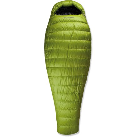 Camp and Hike With a temperature rating of 12degF, this versatile Sea to Summit Traverse Xt II down sleeping bag keeps your nights warm when trekking the Himalayas or hut to hut touring the Alps. High loft, premium 850-fill-power goose down offers superb warmth for minimal weight. Shell fabric is constructed of a 20-denier ripstop fabric treated with a Durable Water Repellent and a non-woven silicone encapsulated fabric. Innovative shell manages condensation, moving moisture vapor through down and siliconized barrier outward; shell repels water and protects the loft of the bag. Lining is a breathable, durable 20-denier polyester fabric with a soft touch. Full-length side zipper and separate foot zipper allow bag to be converted from traditional sleeping bag to a duvet/down comforter. Relaxed mummy shape is cut with a large hood, broad shoulders and large chest for comfort and warmth. Upper side of bag is differentially cut so that the inner layer is smaller than the outer layer; this creates a consistent thickness of insulation and helps prevent cold spots. Lower side is cut in reverse so that the nner layer is larger than the outer layer; this allows down to loft up, filling spaces around body in warmth. Oversize draft tube backing zipper keeps the warmth in and the cold out; zipper is backed by stiff, antisnag tape for smooth operation. Interior zipper security pocket is great for stowing small essentials, alleviating middle-of-the-night fumbling and preserving battery performance in cold weather. Oversize collar drapes comfortably over neck and shoulders, sealing out drafts; dual elastic adjusters. Preventing cold air from seeping in, offset baffle construction allows the goose down to remain fully lofted and keeps it from shifting. Sea to Summit Traverse Xt I bag comes with a Ultra-Sil(R) compression sack, an oversize mesh storage cell and a large cotton sack. - $424.93