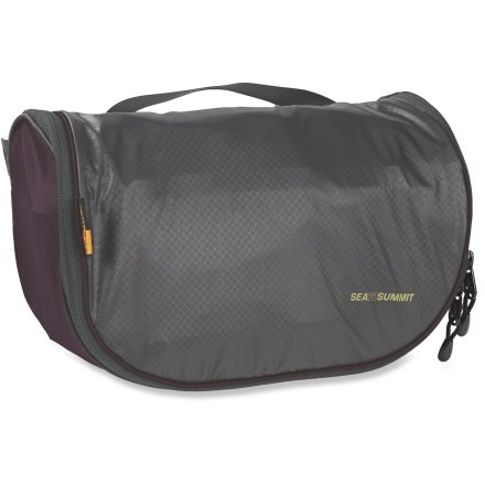 Entertainment The Sea to Summit small Travelling Light Hanging Toiletry Bag has multiple internal pockets for personalized organizing. The hanging design is extremely convenient to use. - $34.95