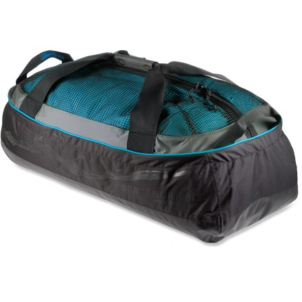 Kayak and Canoe The large Sea to Summit Dry Mesh Duffle uses a mesh area to store wet gear, and a waterproof area to store dry gear. - $139.95