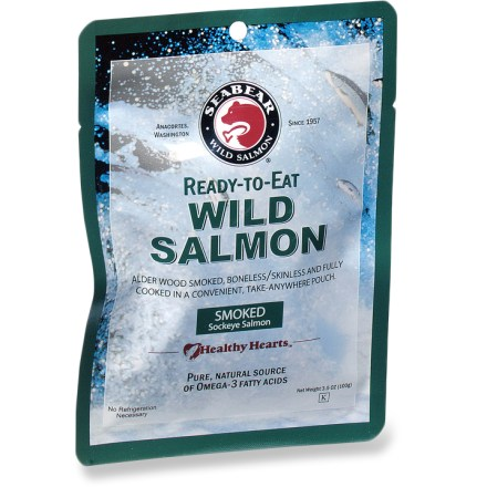 Camp and Hike Distinctive in its rich red color, robust flavor and tender flakiness, alder-smoked sockeye offers a quintessential Northwest eating experience. - $7.00