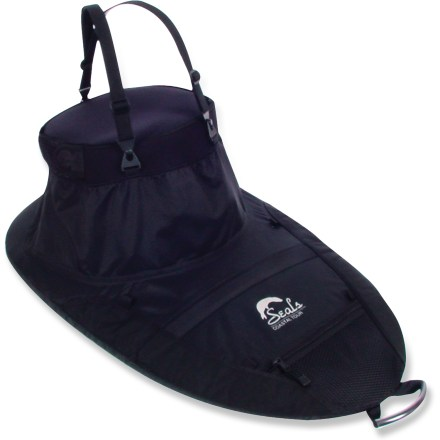 Kayak and Canoe The Seals Coastal Tour 2.2 spray skirt is ideal for moderate conditions and features a tensioned deck stay to keep water from pooling. - $45.83