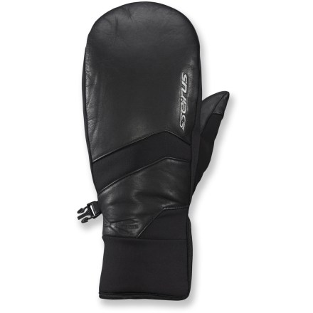 Ski The Seirus Xtreme All Weather(TM) Edge mittens are 100% waterproof and insulated with Thinsulate polyester fibers to keep your hands dry and warm on winter outings. - $34.83