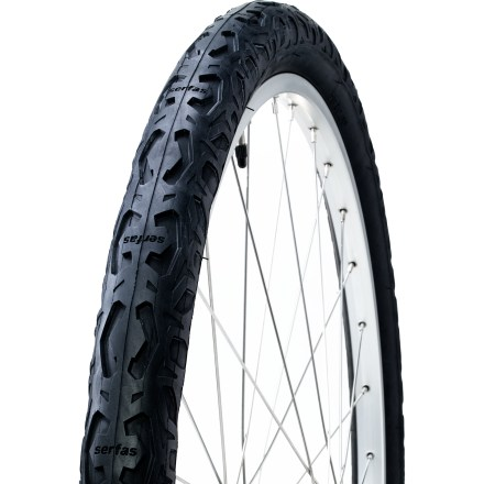 Fitness The Serfas Drifter City tire turns your 29er mountain bike into a smooth-rolling city cruiser. - $34.95