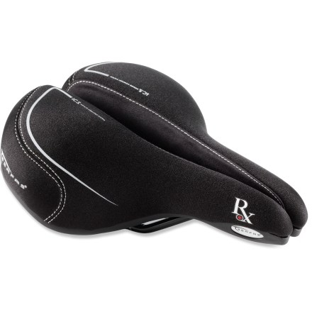 Fitness Serfas RX saddle for women is medically tested and proven to reduce cycling-related discomfort and numbness - $55.95