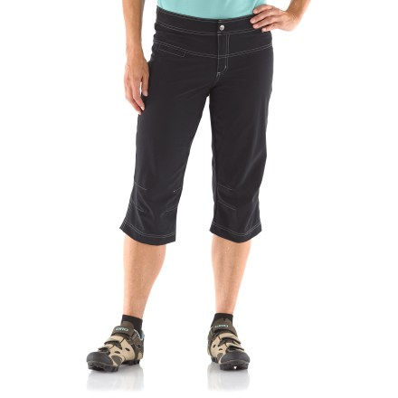 Fitness From the bike to the beach, the Shebeest Boardrider bike capri pants with removable liner shorts are 2-for-1 for multisport and apres-sport use. - $20.83