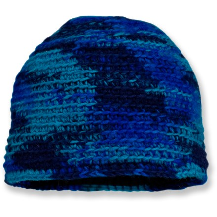 Entertainment Featuring a contemporary take on camouflage, the Sherpa Adventure Gear Sangye beanie comes in a variety of fun colors. Wool insulates efficiently and breathes to regulate temperature for outstanding comfort in wide-ranging conditions. Hat features a soft microfleece earband lining for added warmth and comfort. 1 size fits most. - $16.93