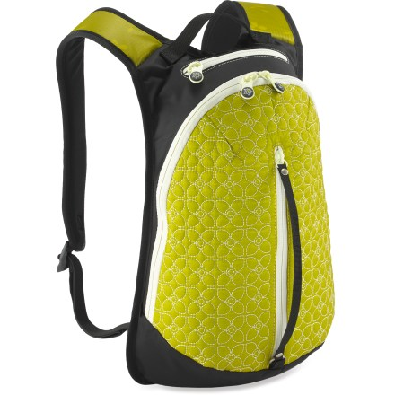 Entertainment The Sherpani Access LE backpack is perfect for urban jaunts near or far. Features a zippered main compartment and internal organizational pockets; pack opens accordion style for maximum space access. External fleece-lined security pocket and vertical stash pocket hold sunglasses, phone or music. Grab handle and lightly padded backpack straps offer convenient carrying options. Sherpani Access LE includes white lining accents and a key fob. Closeout. - $24.83