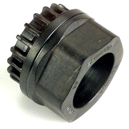 Fitness This Dura-Ace/Ultegra bottom bracket tool is required for installing BB-7700, BB-6500 and BB-5500 22mm hollow spindle brackets - $19.00