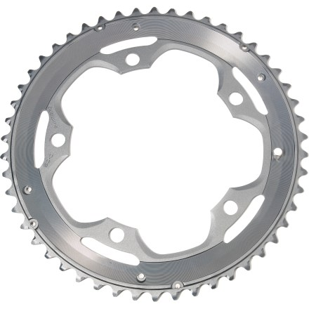 Fitness Replace your worn outer chainring with this Shimano 105 ring to revitalize your drivetrain. - $29.93