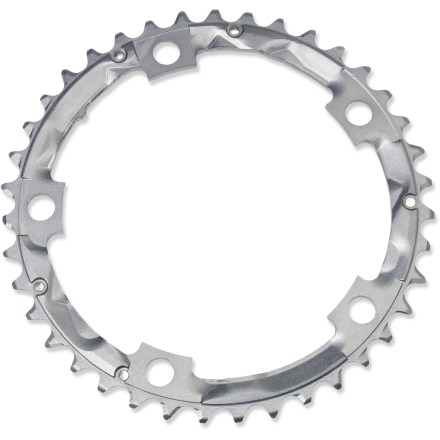 Fitness Replace your worn middle chainring with this Shimano 105 ring to revitalize your drivetrain. - $44.00