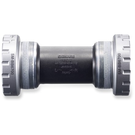Fitness The Shimano SM-FC6700 is the replacement bottom bracket for the Ultegra FC-6750 compact crankset. - $14.93