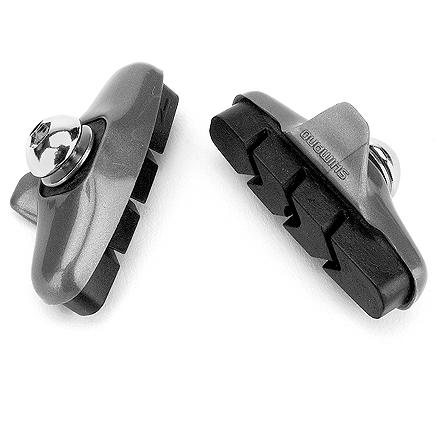Fitness Shimano Ultegra(R) molded BR-6400/03 series brake shoes provide solid stopping power and long use for road cycling - $12.00