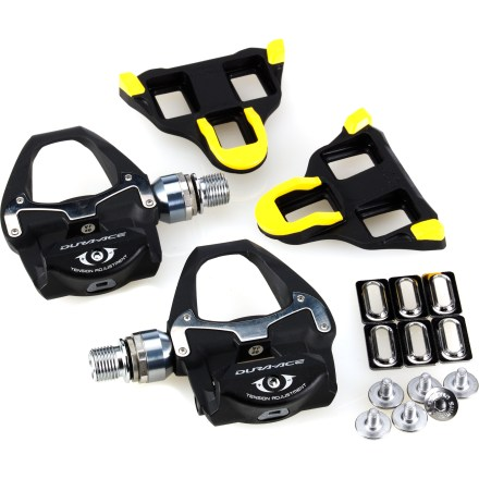 Fitness Shimano Dura-Ace PD-7900 SPD-SL road pedals offer podium-proven performance and an updated, carbon composite body to shave weight off the already excellent design. - $198.93