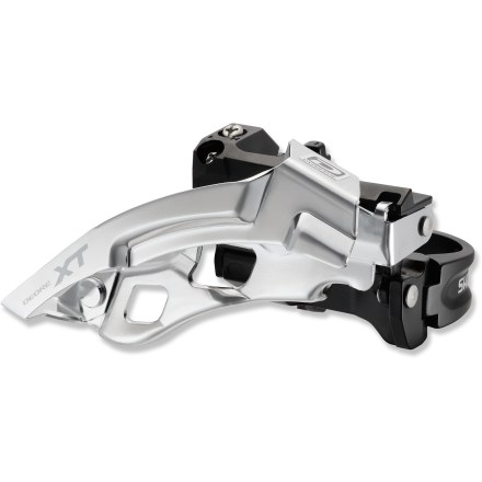 Fitness The Shimano XT FD-M780 Top-Swing 10-speed front derailleur offers great shifting performance for off-road cycling. - $26.93