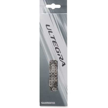 Fitness The Shimano Ultegra CN-6701 Super Narrow 10-speed bike chain is lightweight and fluid, and completes the Ultegra grupo. - $39.95