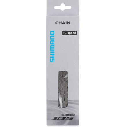 Fitness The Shimano 105 CN-5700 10-speed super narrow chain is specifically designed for 10-speed drivetrains. - $30.00