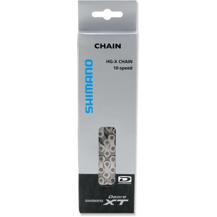 Fitness The Shimano XT CN-HG94 narrow chain is made exclusively for Shimano 10-speed drivetrains. - $23.93