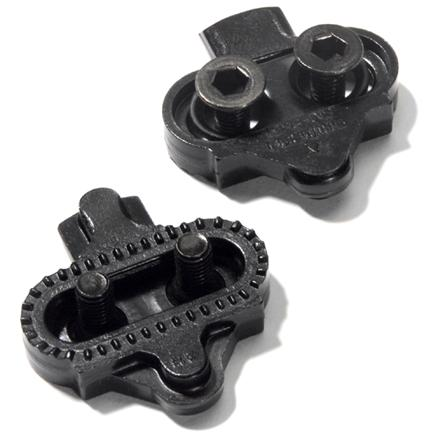 Fitness Replacement SPD cleats for heavy off road and pavement riding. These are less likely to release with upward stroke or pull. - $19.00