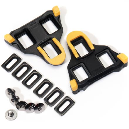 Fitness Replacement cleats for Shimano SPD/SL road shoes feature floating mode - $30.00