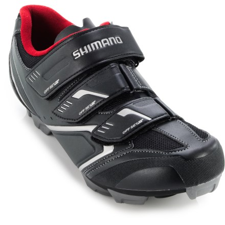 MTB An ideal entry-level, mountain bike racing shoe, the Shimano XC30 MTB bike shoes deliver stability, rigidity and light weight so you can make the most of rough terrain. - $49.83
