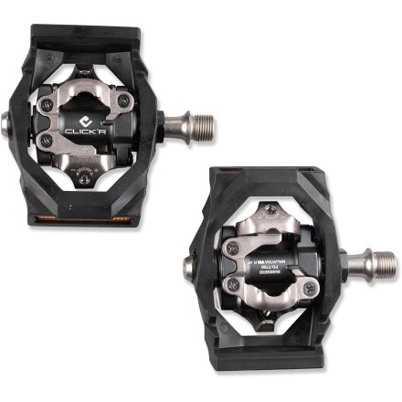 Fitness Shimano Click'R PD-T700 bike pedals offer an easy-to-use clipless option for those wanting to try clipless pedals for the first time. They're also great for recreational riding or weekend touring. - $120.00