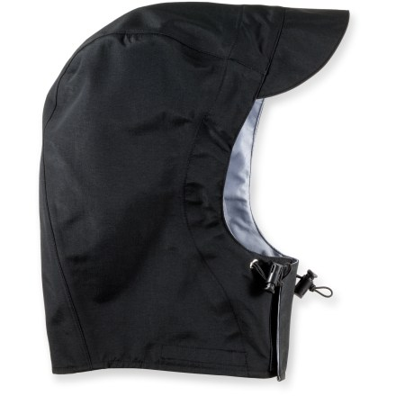 Fitness A mate for your Showers Pass jacket, the Showers Pass hood attaches for wet, windy weather protection. - $17.93