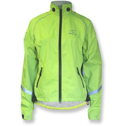 Fitness The women's Showers Pass Club Pro bike jacket provides waterproof and breathable protection for weekend rides, commuting or training. So get out while others stay in. - $58.83