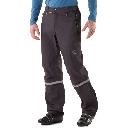 Fitness A commuter's best friend, the Showers Pass Club Convertible 2 pants seal out the weather. They're also breathable and can be converted to knickers when the ride home turns warm. - $150.00