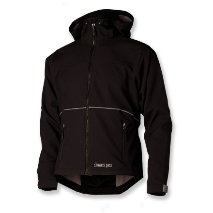 Fitness The streetwise Showers Pass Rogue Hoodie soft-shell bike jacket wears just like your favorite hoodie, but boasts technical performance to rock your ride. - $79.83