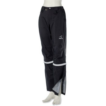 Fitness A commuter's best friend, the breathable Showers Pass Club Convertible 2 women's bike pants seal out the weather. They convert to knickers when the sun pops out on your ride home. - $150.00