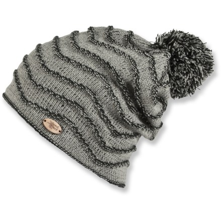 Entertainment The Pipeline beanie from Shred Alert is loaded with character. It's a great apre surf/ski-session beanie. Pearl knit gives the 100% acrylic Pipeline beanie a great look. Microfleece band liner adds warmth and moisture management. - $14.83