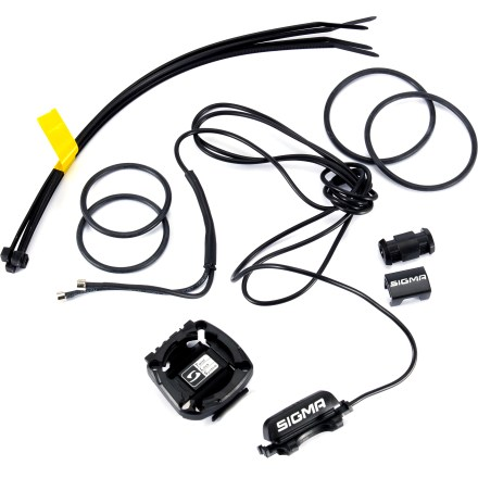 Fitness SIGMA SPORT Wired Universal Mount works with a range of SIGMA SPORT Twist Lock bike computers that use a CR2032 battery. - $3.93