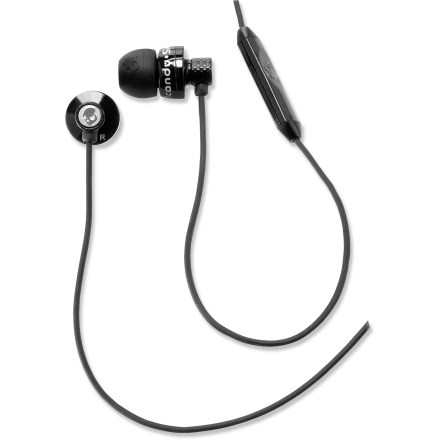 Camp and Hike The Skullcandy Titan ear buds feature precision-cut metal housings that are both durable and attractive. The speakers deliver powerful sound and rich tones. - $29.93