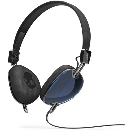 Camp and Hike Sibling of the Aviator, the Skullcandy Navigator headphones mark the evolution of headphones that transport seriously premium sound, attained by heavy investment into audio engineering and research. - $74.93