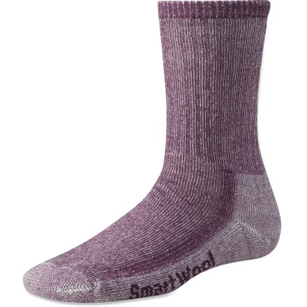 Camp and Hike These no-itch SmartWool(R) hiking socks maintain softness and shape through seasons of wear and washing-and come in colors exclusive to REI! - $18.95