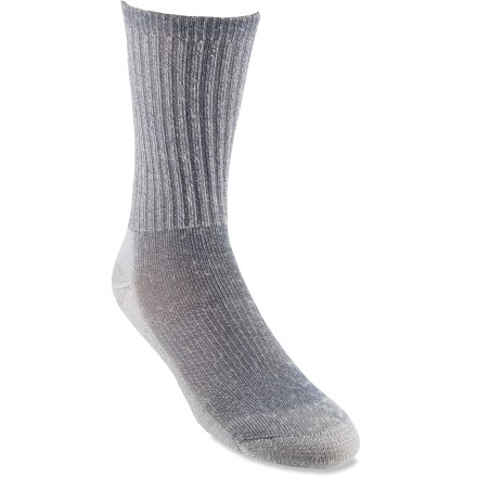 Camp and Hike These top-grade, odor-fighting Smartwool(R) light hiking socks stay soft and maintain excellent fit even after seasons of use. - $17.95