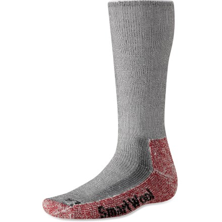 Climbing High-performance SmartWool Mountaineer socks are designed for maximum comfort, protection and warmth over extended periods. - $23.95