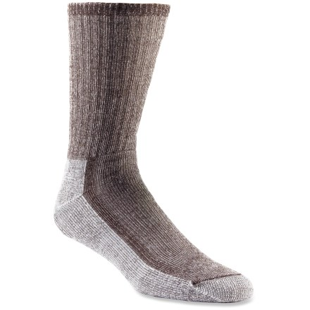 Camp and Hike These no-itch merino wool SmartWool hiking socks maintain softness and shape through seasons of wear and washing. - $18.95