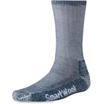 Camp and Hike These thick, natural wool socks provide extra dense cushioning for warmth and comfort in cool weather. - $20.95