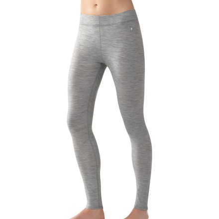 The SmartWool Microweight long underwear bottoms for women help you get out there to enjoy your favorite activities. - $51.93