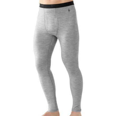 Get out there to enjoy your favorite activities in the comfort of the men's SmartWool Microweight long underwear bottoms. - $51.93