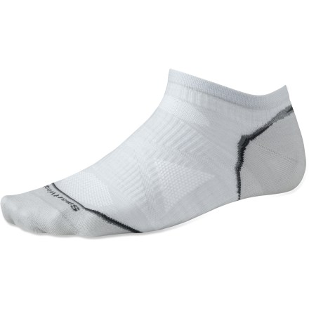 Fitness New SmartWool PhD socks are more advanced than ever! Running Ultra Light Micro men's socks feature innovative new fabric, a more comfortable fit and smart design details that enhance performance. - $7.83