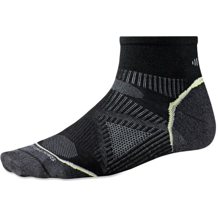Fitness New SmartWool PhD socks are more advanced than ever! Running UltraLlight Mini men's socks feature innovative new fabric, a more comfortable fit and smart design details that enhance performance. - $9.83
