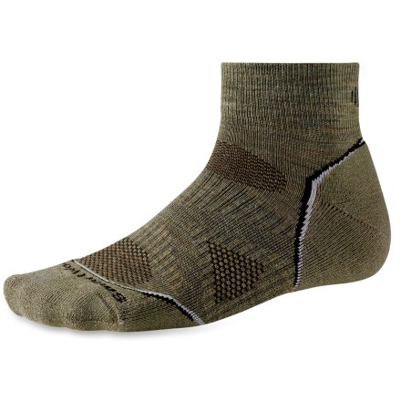 New, improved PhD socks are more advanced than ever! SmartWool Outdoor Light Mini men's socks feature innovative new fabric, a more comfortable fit and smart design details that enhance performance. - $7.83