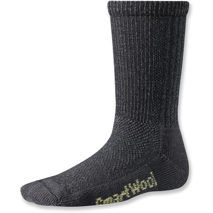 Camp and Hike The SmartWool Hiking Ultra Light Crew socks let kids keep their minds on the trail ahead and off what's in their boots. - $10.95