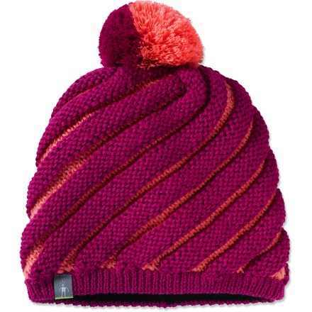 Entertainment Built with a double layer, the distinctive SmartWool Warmest hat is great for activities in chilly weather. Fine merino wool and acrylic fabric helps maintain a comfortable temperature on icy winter days. Merino wool wicks, absorbs and evaporates moisture to keep girls dry and comfortable. Hand wash in cold water and lay flat to dry. - $21.93