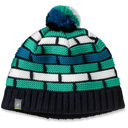 Entertainment When the temperature dips and snowflakes fall you want the SmartWool Warmer hat on your head to keep you comfortable. Textured-knit merino wool/acrylic exterior has a merino wool headband liner for great warmth and comfort. - $17.83