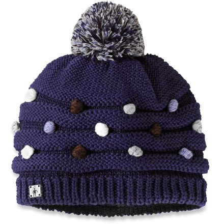 Entertainment The coldest winter days call for the comfort of the SmartWool Warmest Dot hat. Textured-knit merino wool/acrylic exterior is fully lined with soft merino wool for excellent warmth and comfort. - $27.93